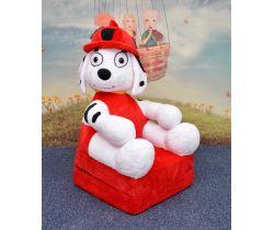 Detské plyšové kresielko Smyk 2v1 Fireman Dog