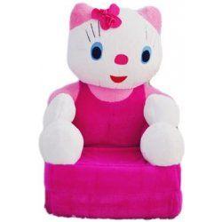 Detské plyšové kresielko Smyk 2v1 Hello Kitty