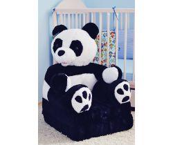 Detské plyšové kresielko Smyk 2v1 Panda