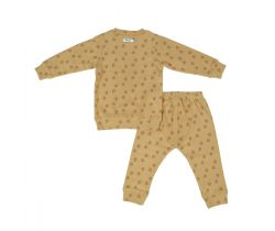 Detské pyžamo Lodger Sleeper Print Rib Honey