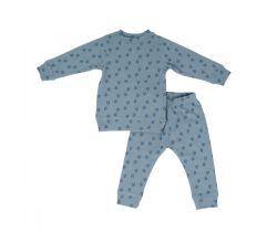 Detské pyžamo Lodger Sleeper Print Rib Ocean