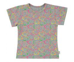 Detské tričko Esito Neonová Srdce