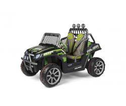 Detské vozítko Peg-Pérego Polaris Ranger RZR Green Shadow