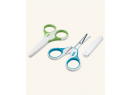 Detské zdravotné nožničky s krytom Nuk