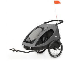 Detský vozík za bicykel Hauck Dryk DUO