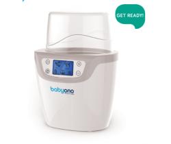 Digitálny ohrievač sterilizátor fliaš 2in1 BabyOno