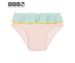 Dievčenské plavky s UV ochranou Kietla Nohavičky Pink belt