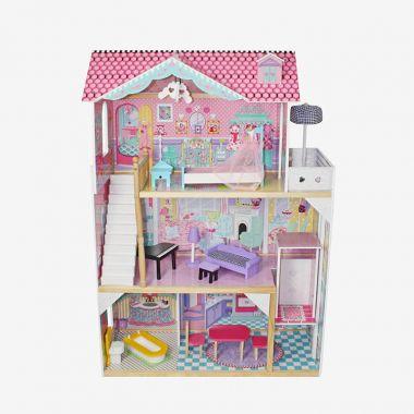 Domček pre bábiky Wooden Toys Dusia