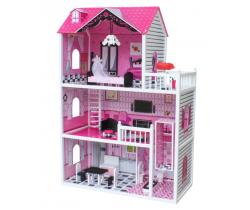 Domček pre bábiky Wooden Toys Roza