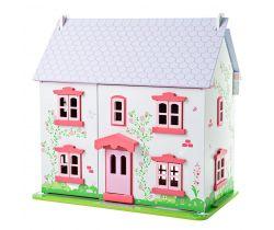 Domček pre bábiky Bigjigs Toys Ružový