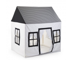 Domček Textilné Childhome Black & White