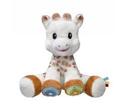Dotyková a hrajúci plyšová hračka Vulli Žirafa Sophie