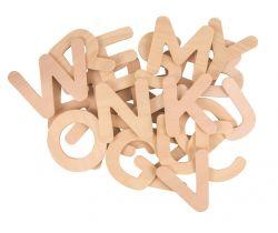 Drevená abeceda Bigjigs Toys Veľké písmená