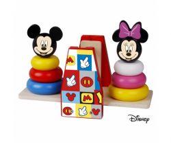 Drevená balančná hra Derrson Disney Mickey a Minnie