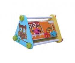 Drevená edukačná hračka EcoToys Sovička
