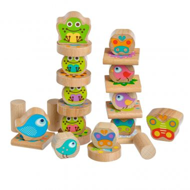 Drevená hračka Lucy&Leo Balancer Little Friends