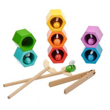 Drevená hračka Lucy&Leo Beehives Game