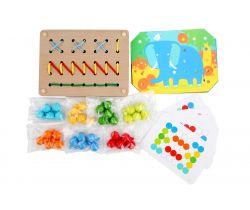 Drevená hračka Lucy&Leo Color Mosaic