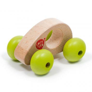 Drevená hračka Lucy&Leo Roly Poly Mini Car