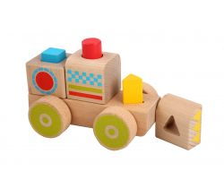 Drevená hračka Lucy & Leo Smart Truck Block Sorter