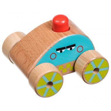Drevená hračka Lucy & Leo Squeaker Car