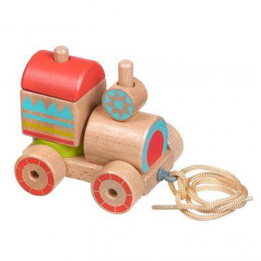 Drevená hračka Lucy & Leo Stacker Train
