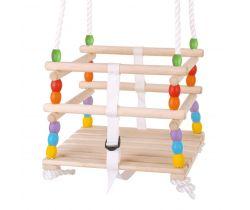 Drevená korálková hojdačka Bigjigs Toys