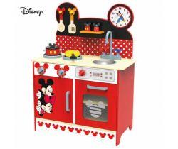 Drevená kuchynka XL Derrson Disney Mickey a Minnie