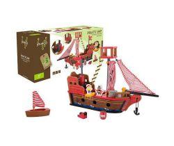 Drevená pirátska loď 36m + Jouéco