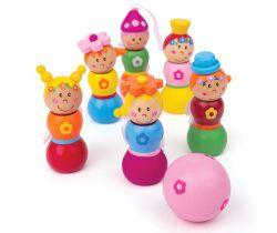 Drevené kolky Bigjigs Toys Víly