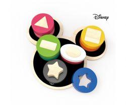 Drevené motorické tvary Derrson Disney Mickey