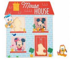Drevené puzzle Derrson Disney Domček pre najmenších
