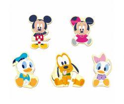 Drevené puzzle Derrson Disney Mickey a priatelia