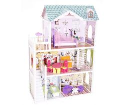 Drevený domček pre bábiky EcoToys Beverly Hills