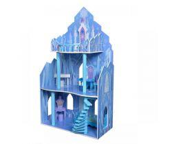 Drevený domček pre bábiky EcoToys Frozen
