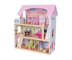 Drevený domček pre bábiky EcoToys Rozprávková Rezidencia