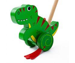 Drevený Ježdík Bigjigs Baby T-Rex