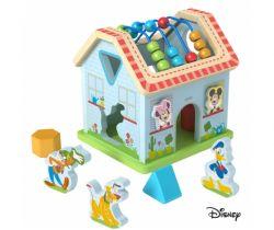 Drevený motorický domček Derrson Disney Mickeyho svet