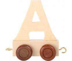 Drevený vláčik Small Foot vláčikodráhy abeceda