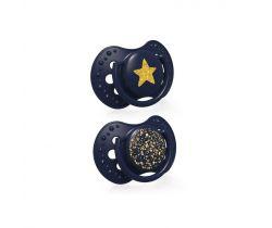 Cumlík silikónový dynamický 2 ks Lovi Stardust Blue