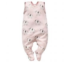 Dupačky Pinokio Wild Animals Elephant Pink