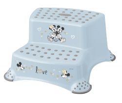 Dvojstupínek k WC/umývadlu Keeeper Mickey & Minnie