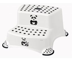 Dvojstupínek k WC/umývadlu Keeeper Panda