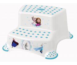 Dvojstupínek k WC/umývadlu Keeeper Frozen