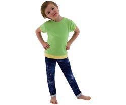 Detské tričko jednofarebné veľ. 98 - 116 - zelená / 116 Esito