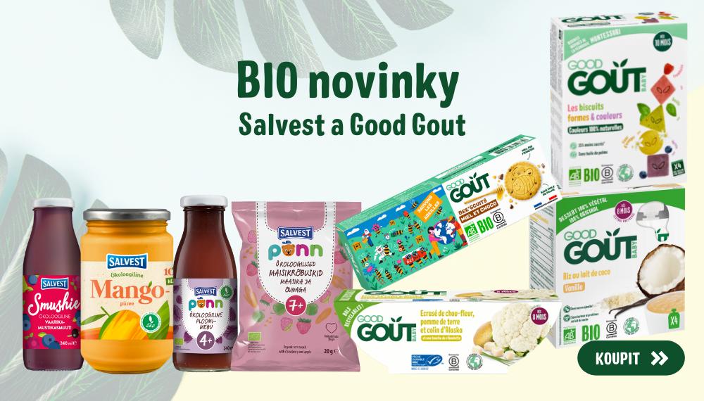 Novinky Salvest a Good Gout
