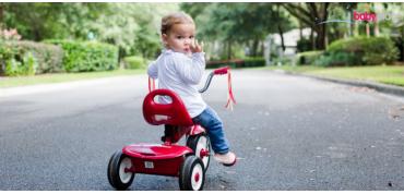 Vyberáme detské odrážadlo, trojkolku, vodný bicykel.