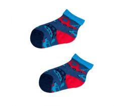 Froté ponožky s protišmykovou úpravou Yo Blue Cars