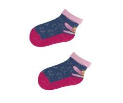 Froté ponožky s protišmykovou úpravou Yo Blue Fairy