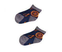 Froté ponožky s protišmykovou úpravou Yo Blue Round